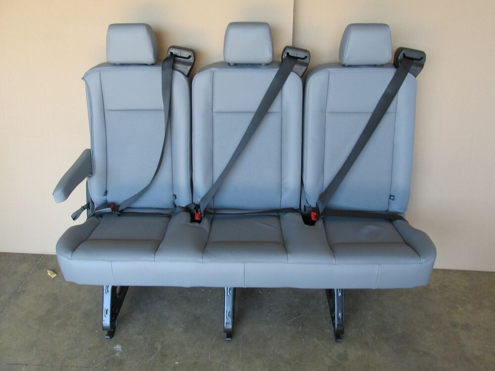 New 2015 Ford Transit Van Passenger Vinyl 3 Person Couch