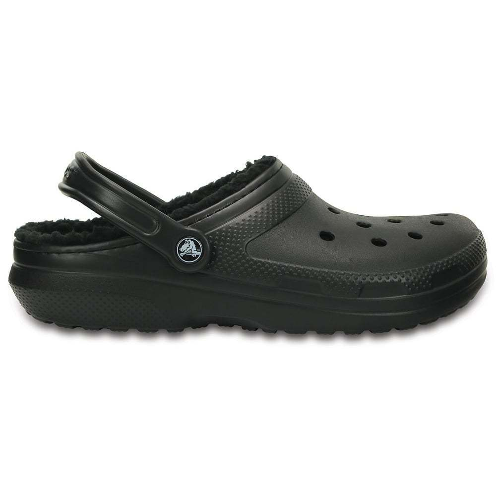 crocs lined classic clog fuzzy lining clogs fuzz shoes warm slippers mens jellyegg lwshoes