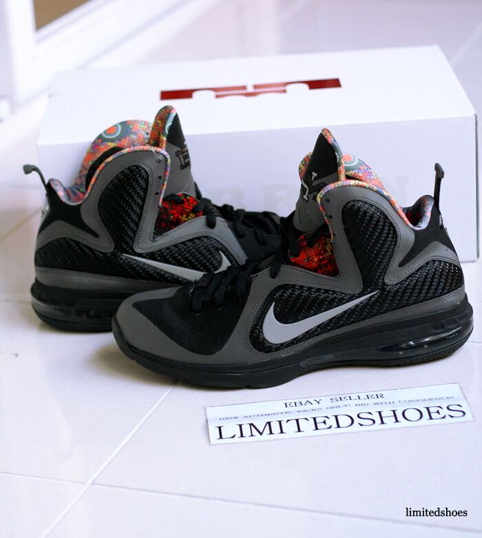 best service 525f2 b0766 Details about Nike Air Lebron 9 IX Black History Month BHM china zoom  cannon swingman griffey
