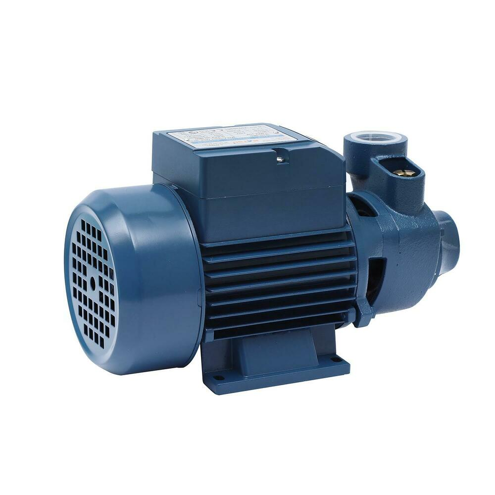 Centrifugal peripheral 1 2 hp water pump home pond garden for Pond water pump