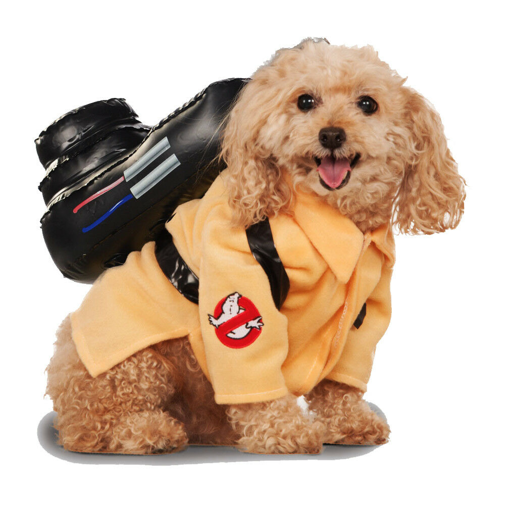 Pet Dog Ghostbusters Fancy Dress Costume Rubies Halloween Outfit S-XL | eBay  sc 1 st  eBay & Pet Dog Ghostbusters Fancy Dress Costume Rubies Halloween Outfit S ...