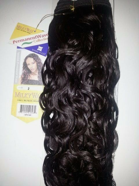 100 Human Hair Spanish Perm Wave Weave 12 Quot Curly Weft