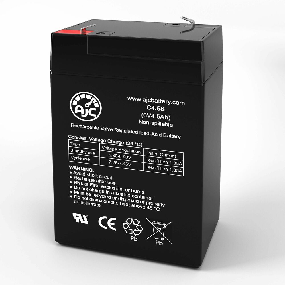 power core 100575 12v 1 3ah sealed lead acid battery ajc brand replacement ebay. Black Bedroom Furniture Sets. Home Design Ideas