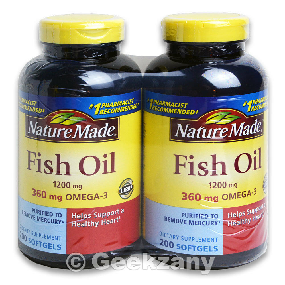 Nature Made Fish Oil Omega  Mg  Softgels