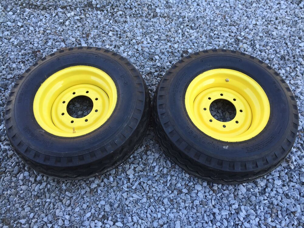 New Tractor Rims : New l backhoe tires wheels rims for case wd