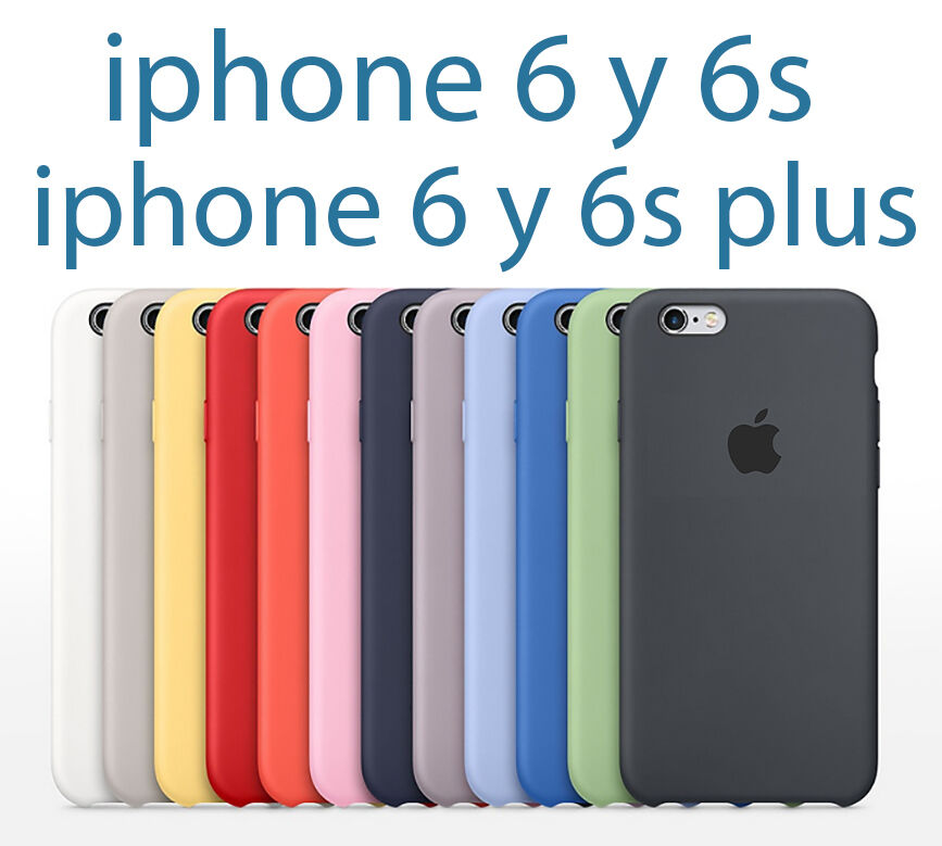 Funda silicone para iphone 5 5s se 6 6s y 6 6s plus m xima calidad silicona ebay - Fundas iphone 5 divertidas ...