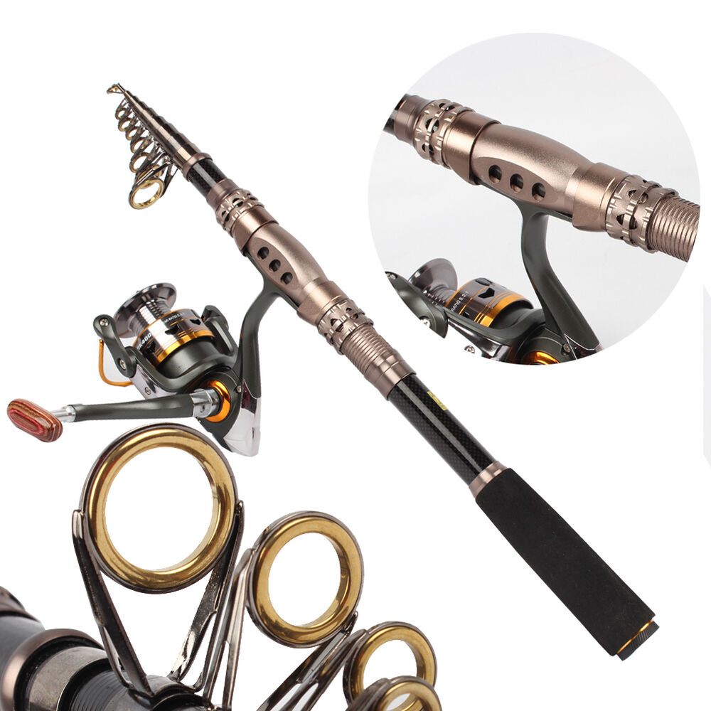 Telescopic fishing rod and reel combos for bass saltwater for Bass pro fishing rods