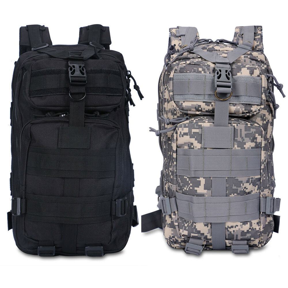 New outdoor military tactical backpack hiking camping for Outdoor rucksack