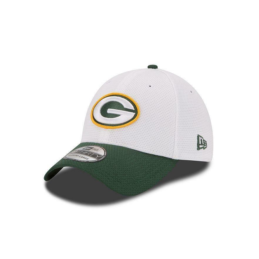 82614aa637bb25 Details about Youth Green Bay Packers New Era NFL Training Camp 39THIRTY  Flex Hat - One Size