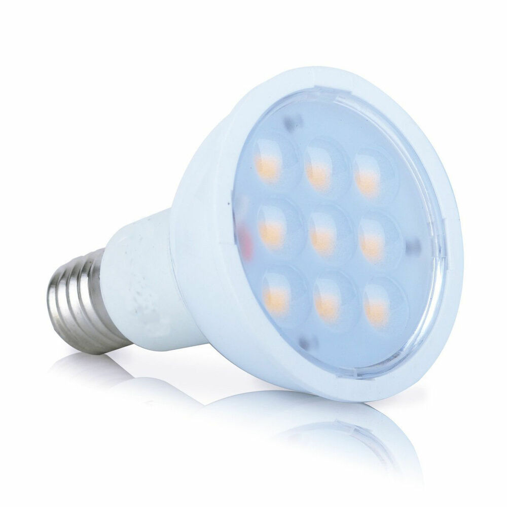 Warm White Yellow Led Bulb E17 Base Reflector R14 4W for ...