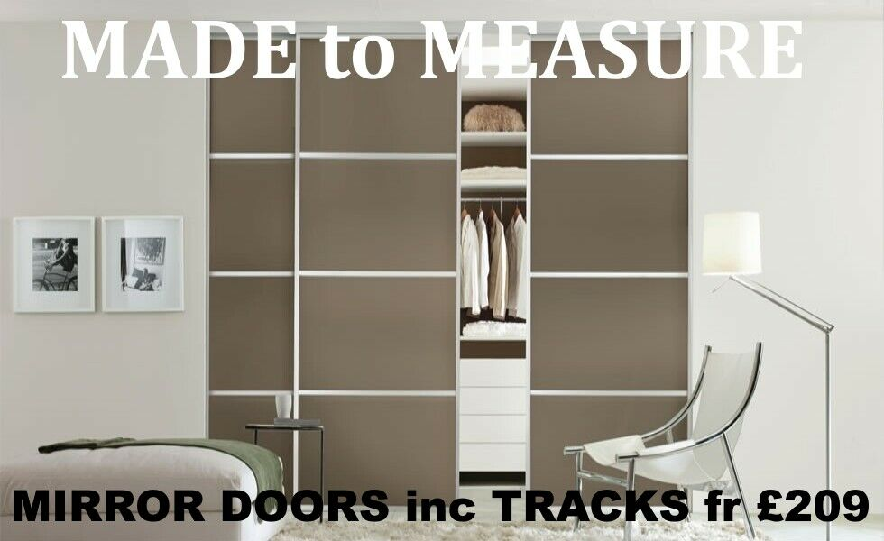 Luxury Sliding Wardrobe Doors For Bedrooms Bespoke Made To Your