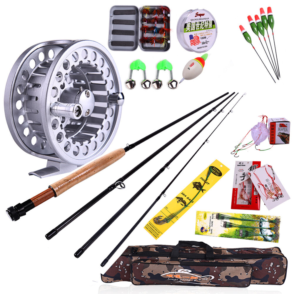 Fly fishing combos saltwater fishing rod reel lure lines for Fly fishing combo kit