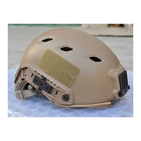 img-Softair Toy Tan Sand De Swat Core Ops Tactical Helmet Jump Uk Delivery Rail