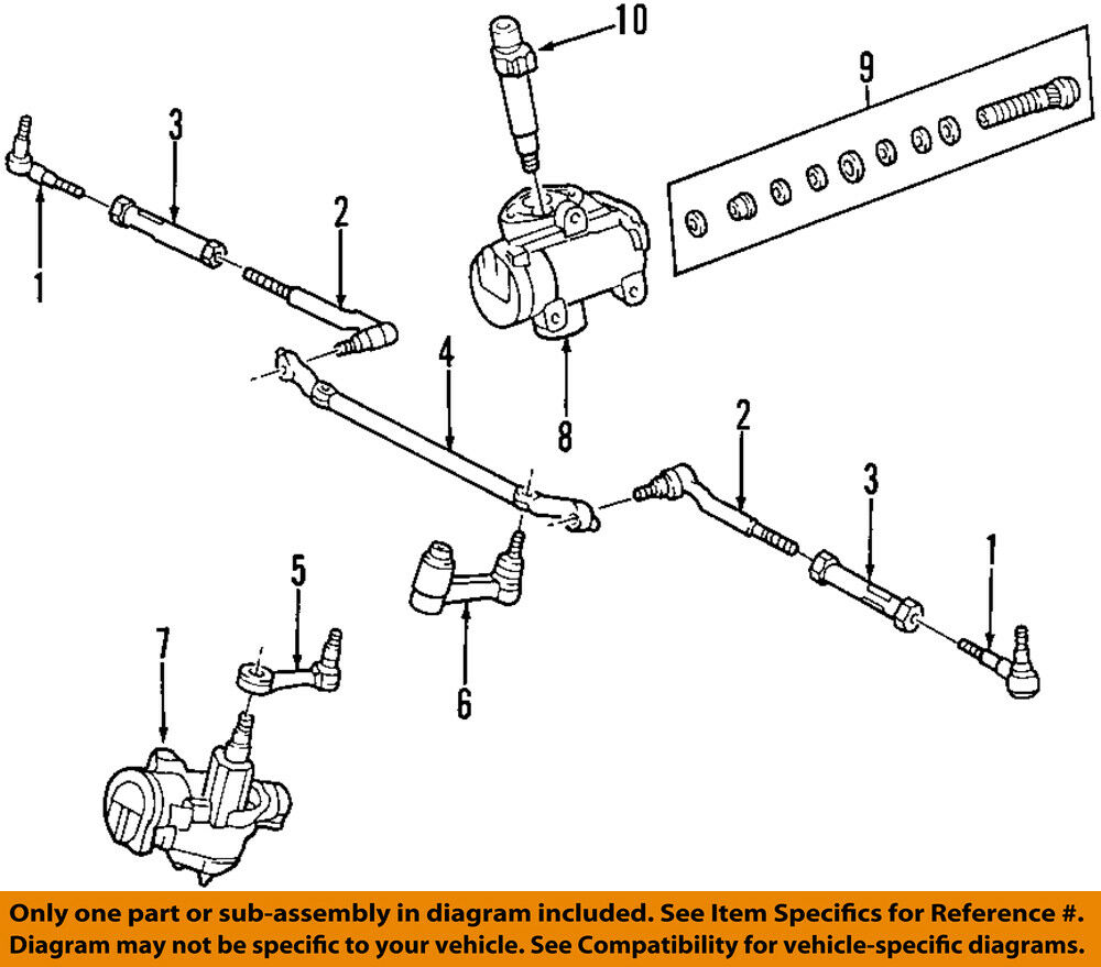 Ford Oem Steering Gear