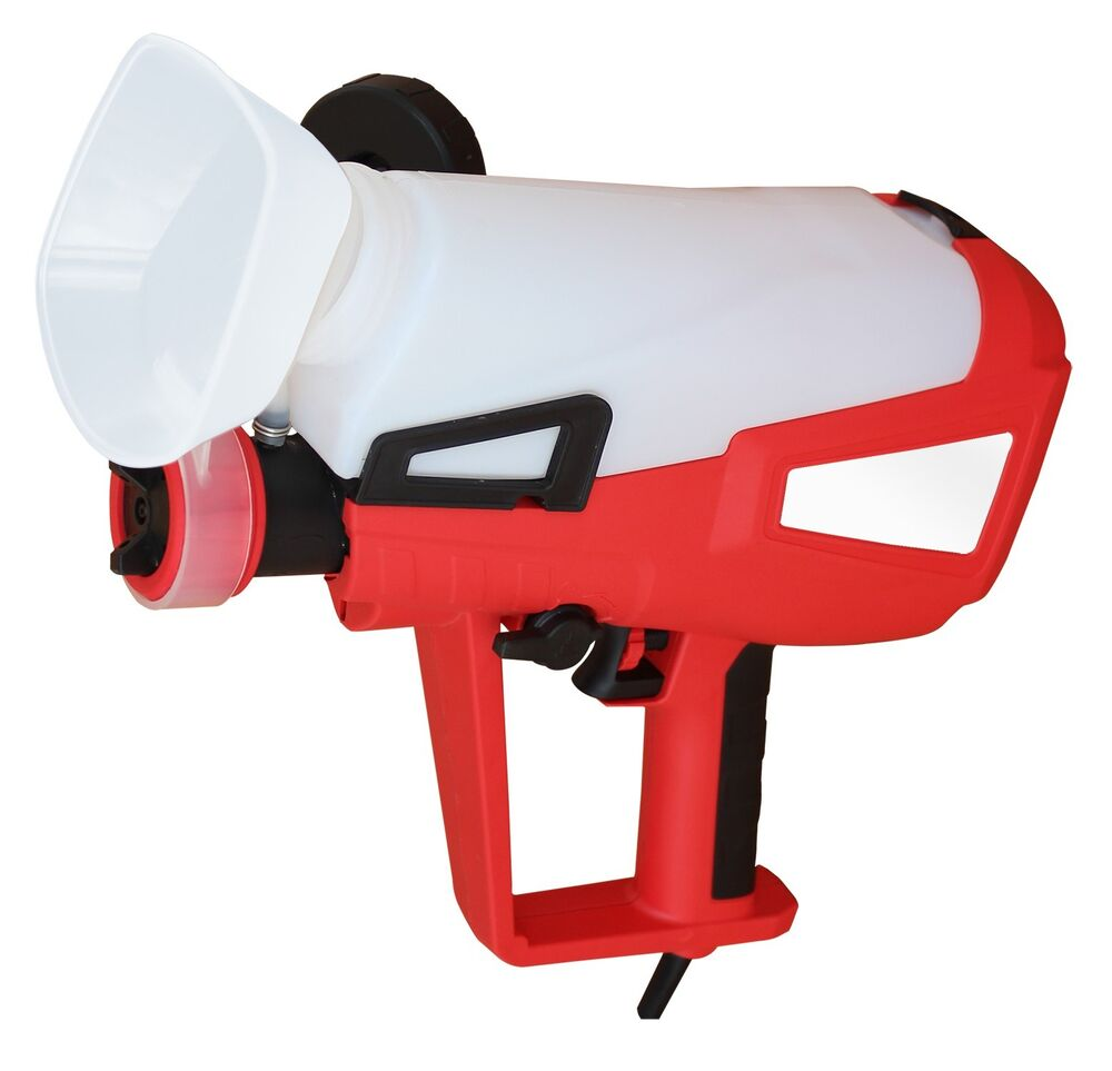 240v Electric Hvlp Turbine Gravity Spray Gun 800ml Fence