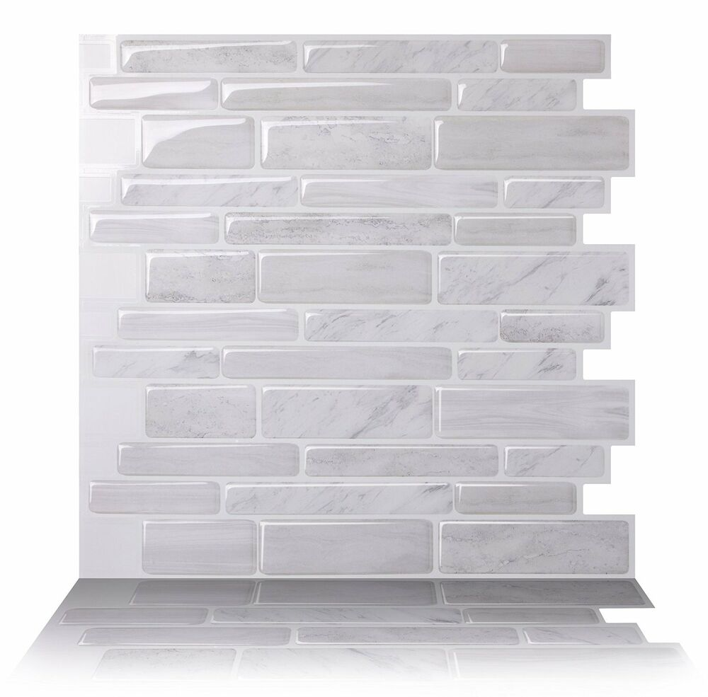 Tic Tac Tiles 174 High Quality 3d Peel Amp Stick Wall Tile In