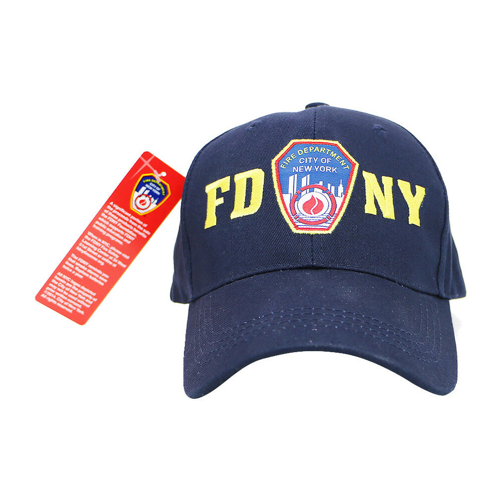 Details about FDNY Cap New York Fire Department FDNY Hat New York City  Officially Licensed 56e451a76b1