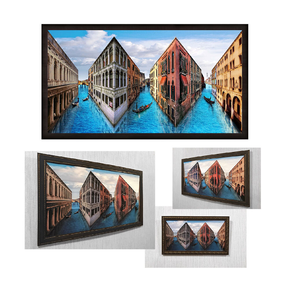 Reverspective Reverse Perspective Poster Venice 3d Wall