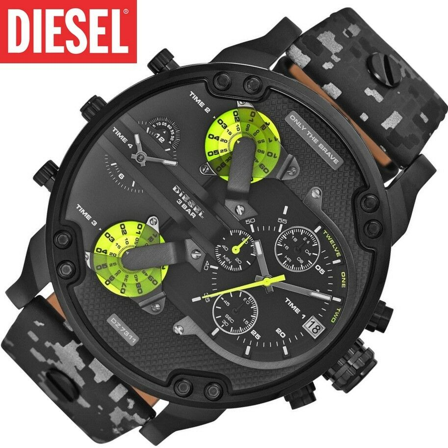 original diesel uhr dz7311 mr daddy 2 0 chronograph xl. Black Bedroom Furniture Sets. Home Design Ideas
