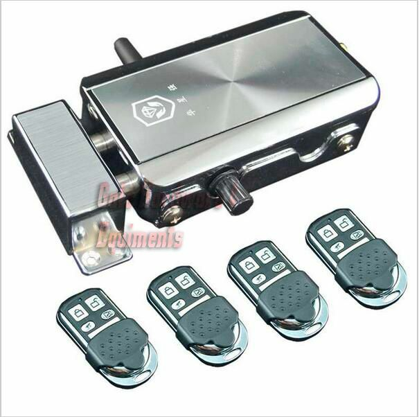 Nsee Hxq908 Automatic Gate Lock Remote Control Latch In