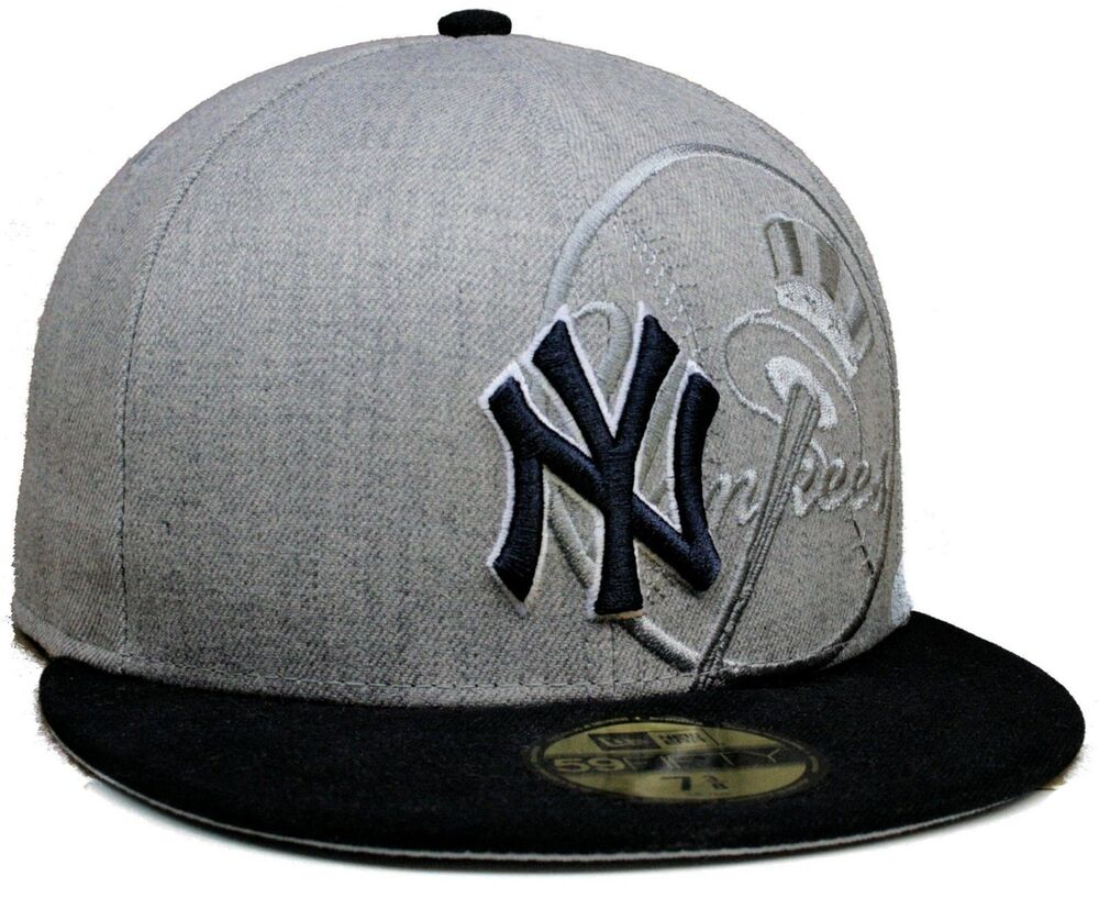 new concept e20e6 5876b ... store new era mlb new york yankees 59fifty team screening fitted flat  brim hat cap ebay ...