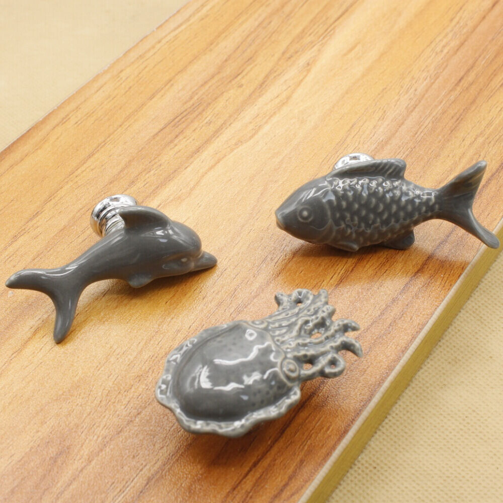knobs or pulls on kitchen cabinets creative animals ceramic drawer shoebox cabinet cupboard 22337