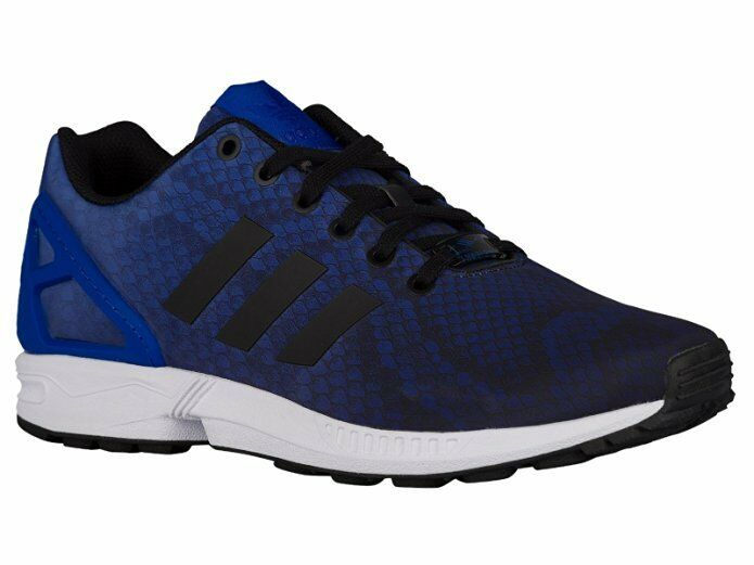 adidas Adidas Mens ZX Flux Classic Sneakers New Blue Black AQ6606 10 M US Sale Outlet