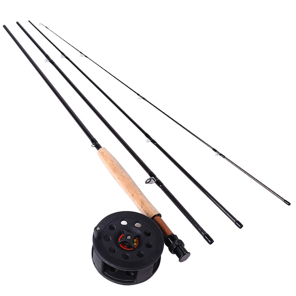 Fly fishing combos trout fly fishing pole and reel sea for Trout fishing rod and reel