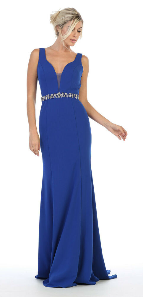 sleeveless formal prom evening dresses special occasion