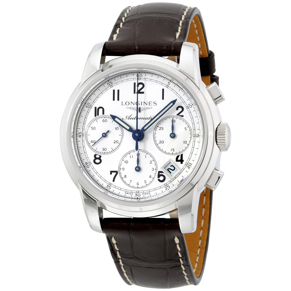 Longines saint imier chronograph automatic men 39 s watch l27534730 ebay for Watches on ebay