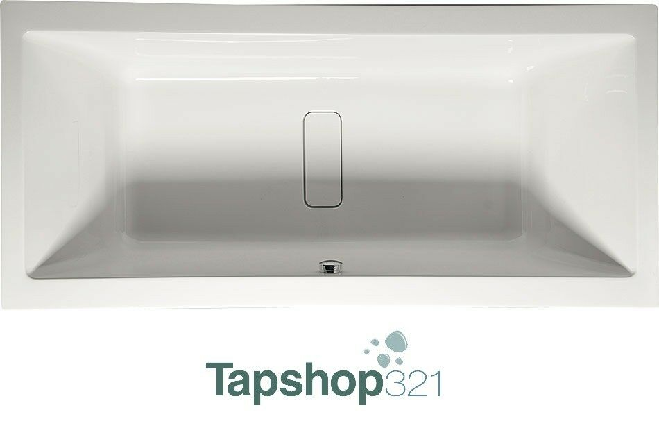 1900mm double ended bath tub modern straight acrylic big for How big is a standard tub