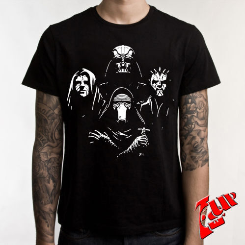 star wars sith t shirt darth vader shirt darth maul tee ebay. Black Bedroom Furniture Sets. Home Design Ideas