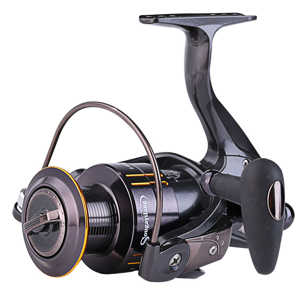 Spinning fishing reel 13 1bb 5 2 1 aluminium strong tackle for Ebay fishing reels