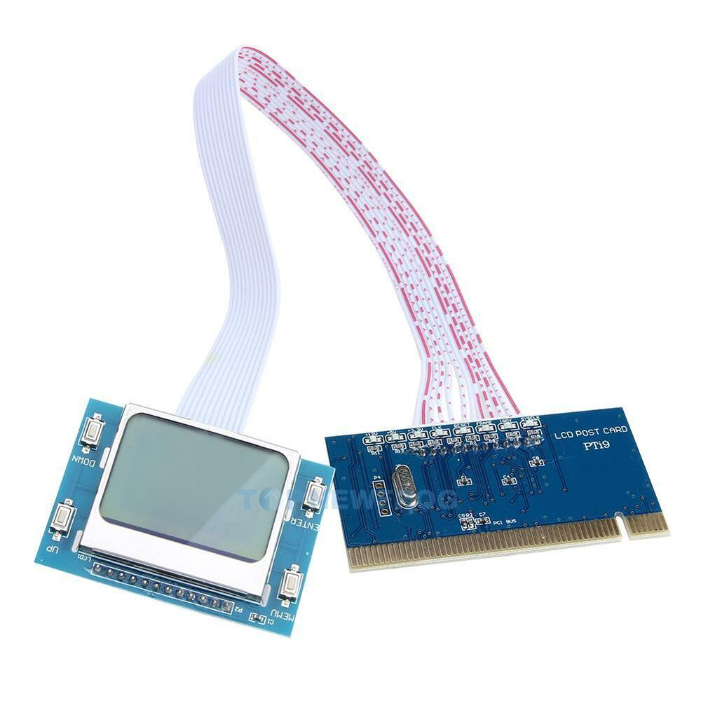 Computer Post: PCI Motherboard Diagnostic Tester Test Analyzer Post Card