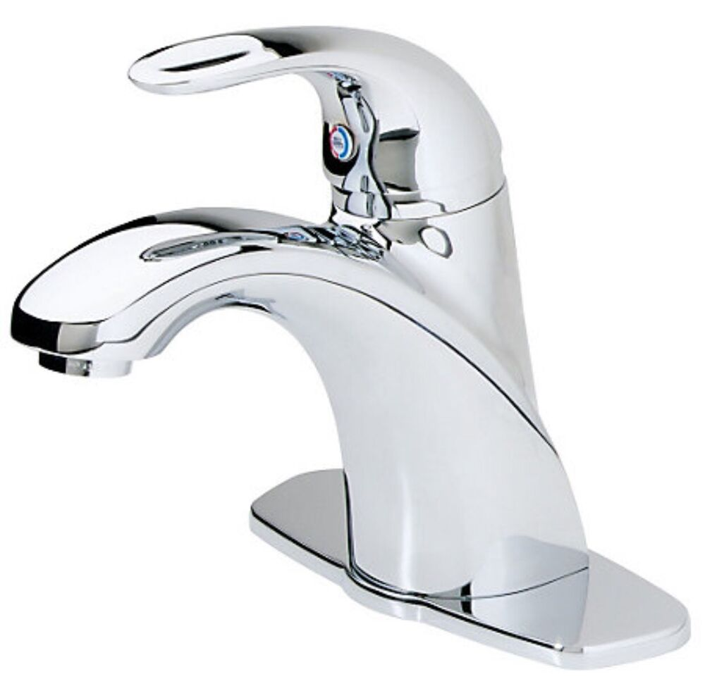 Price Pfister Gt42 Ancc Parisa Single Hole Bathroom Faucet Polished Chrome Ebay