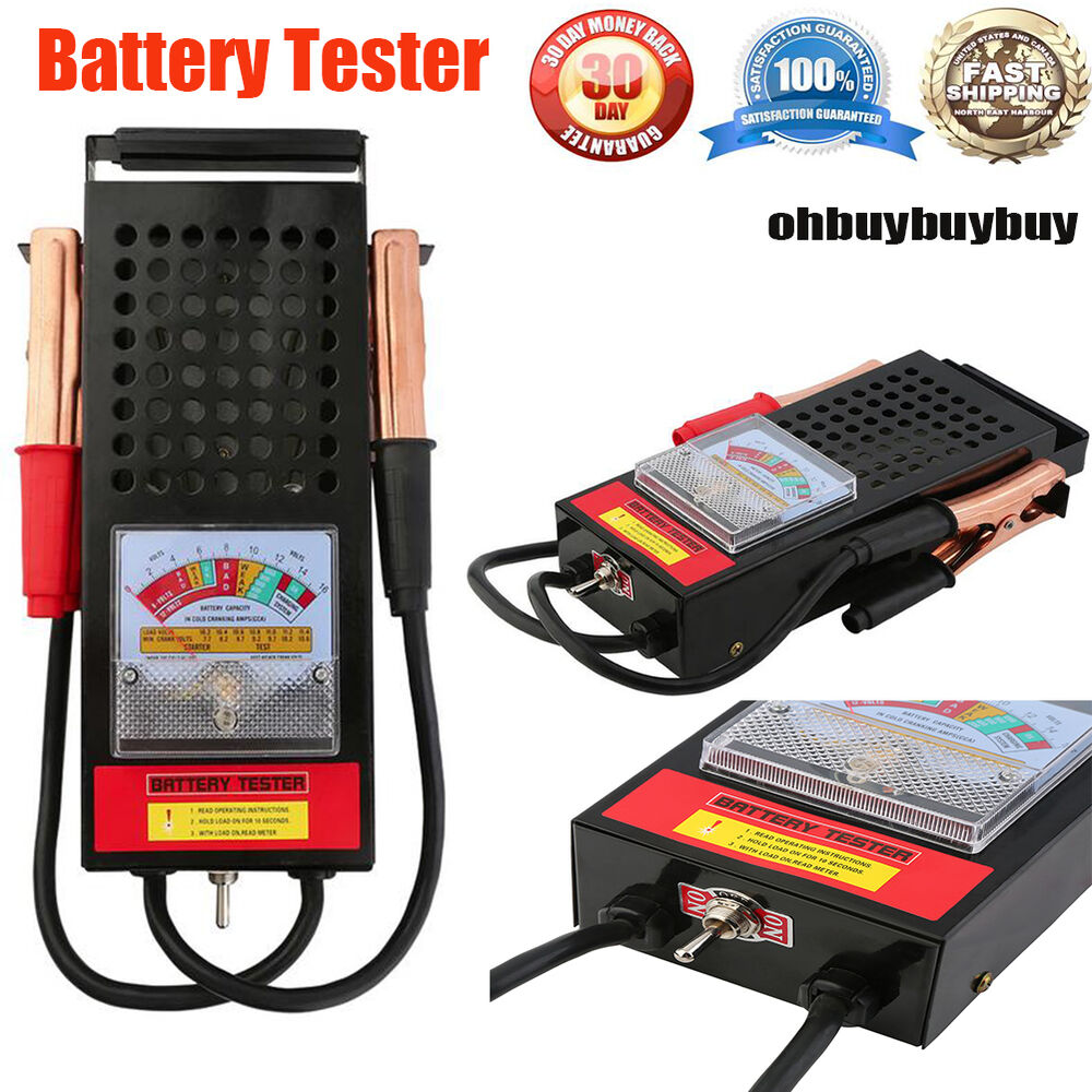 Car Battery System : V auto battery charging tester system atv boat rv