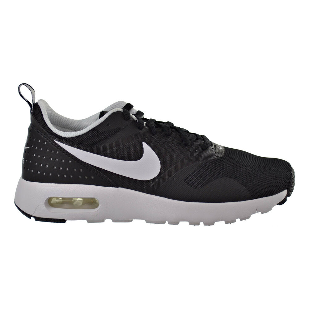 hot sale online 29fa4 14f81 Details about Nike Air Max Tavas Big Kids Shoes BlackWhite Boys Running  Shoes 814443-001