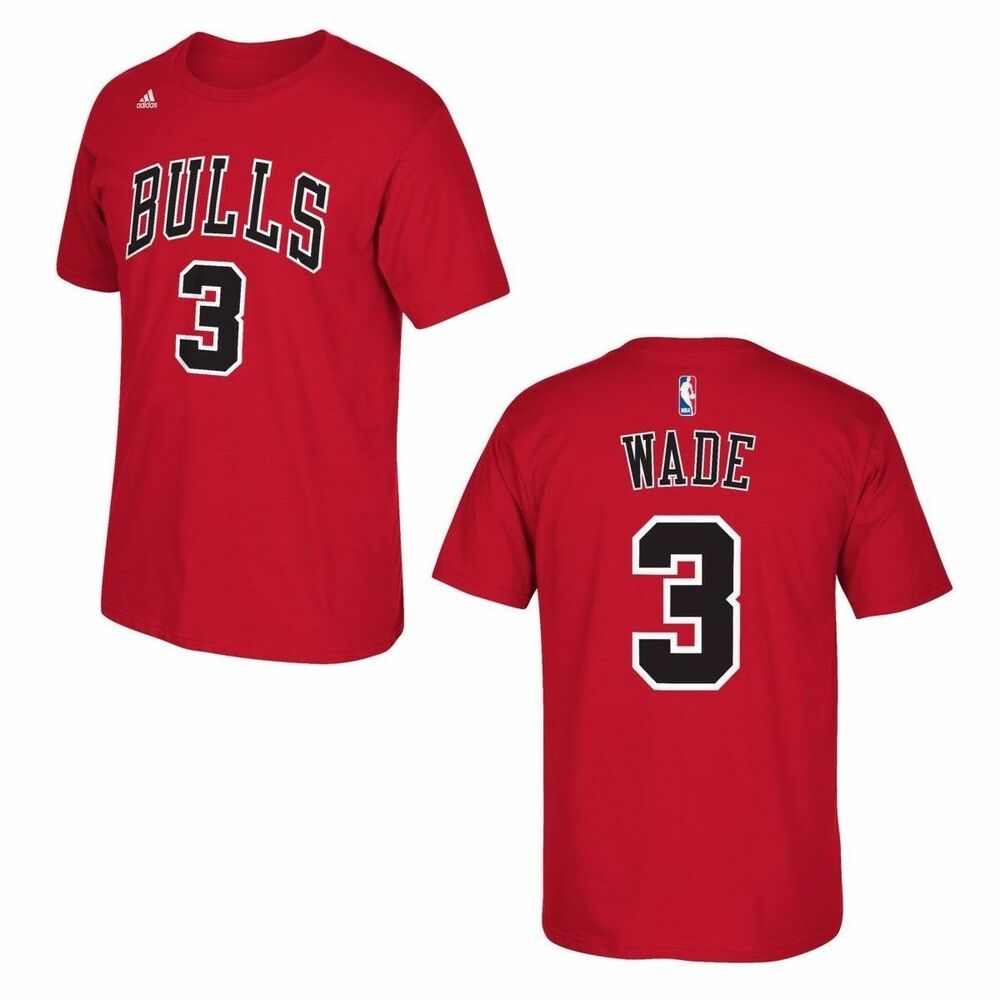 nba trikot t shirt chicago bulls dwayne wade nr 3 basketball rot jersey shirt ebay. Black Bedroom Furniture Sets. Home Design Ideas