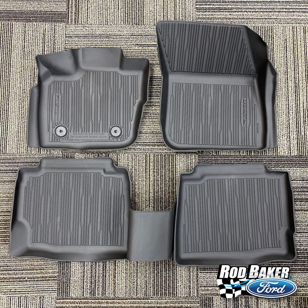 2017 Fusion OEM Genuine Ford Parts Tray Style Molded Black ...