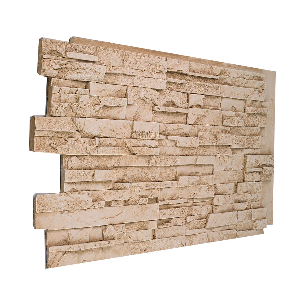 135 solid color stacked stone wall panel made in usa faux. Black Bedroom Furniture Sets. Home Design Ideas