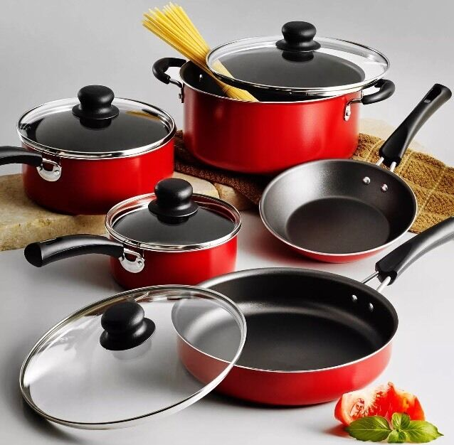 Tramontina Nonstick Cookware Set 9 Piece Essential Kitchen