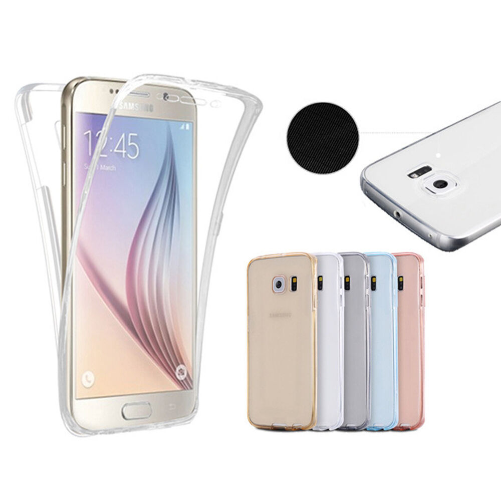 ... S7 Edge Case Cover Soft Full Body Protective Crystal Case Pop : eBay