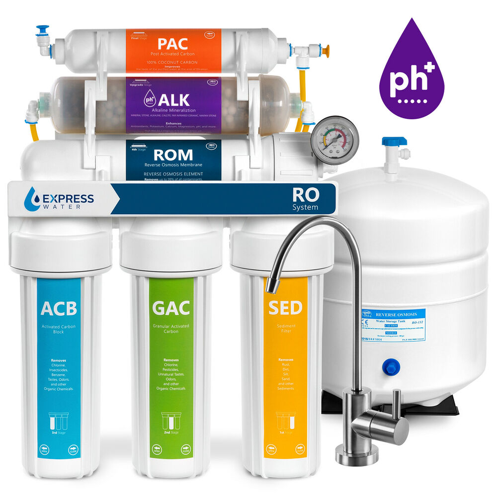 Alkaline Reverse Osmosis Water Filtration System Mineral