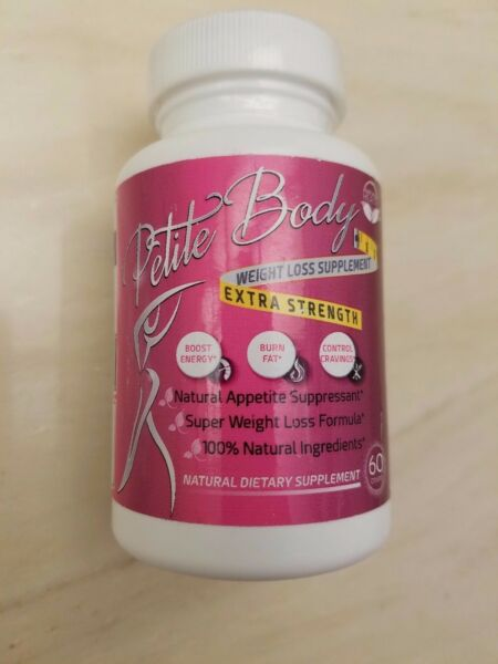 Petite Body - Natural Appetite Suppressant & Fat Burner Weight Loss That Works