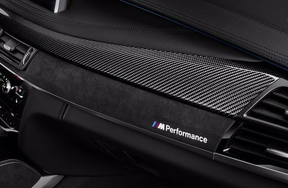 Genuine Bmw F15 X5 F85 X5m M Performance Carbon Fiber