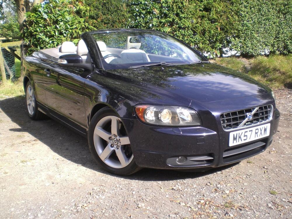 volvo c70 convertible 2 5 t5 se 2007 57 reg ebay. Black Bedroom Furniture Sets. Home Design Ideas