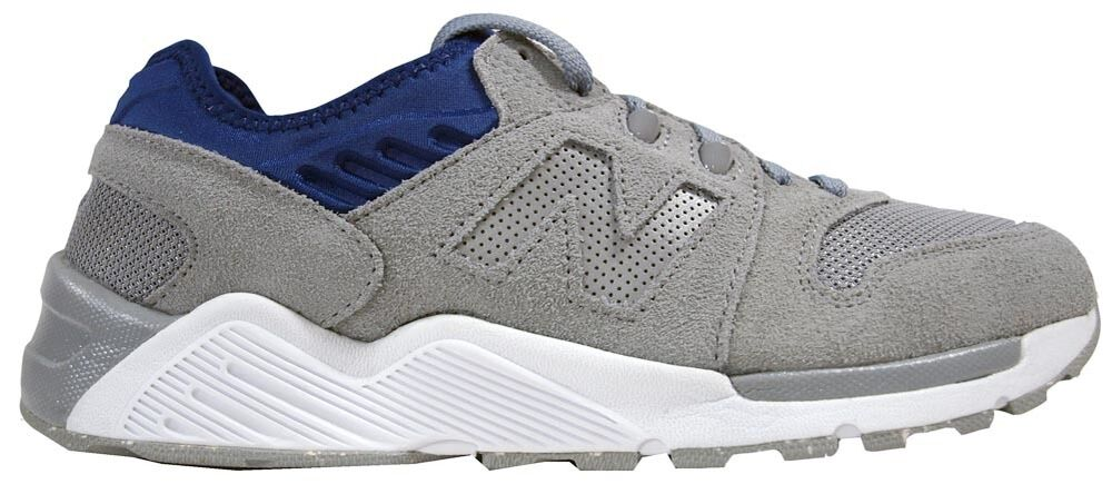New Balance ML009SG Suede Mens Grey/Blue Trainers