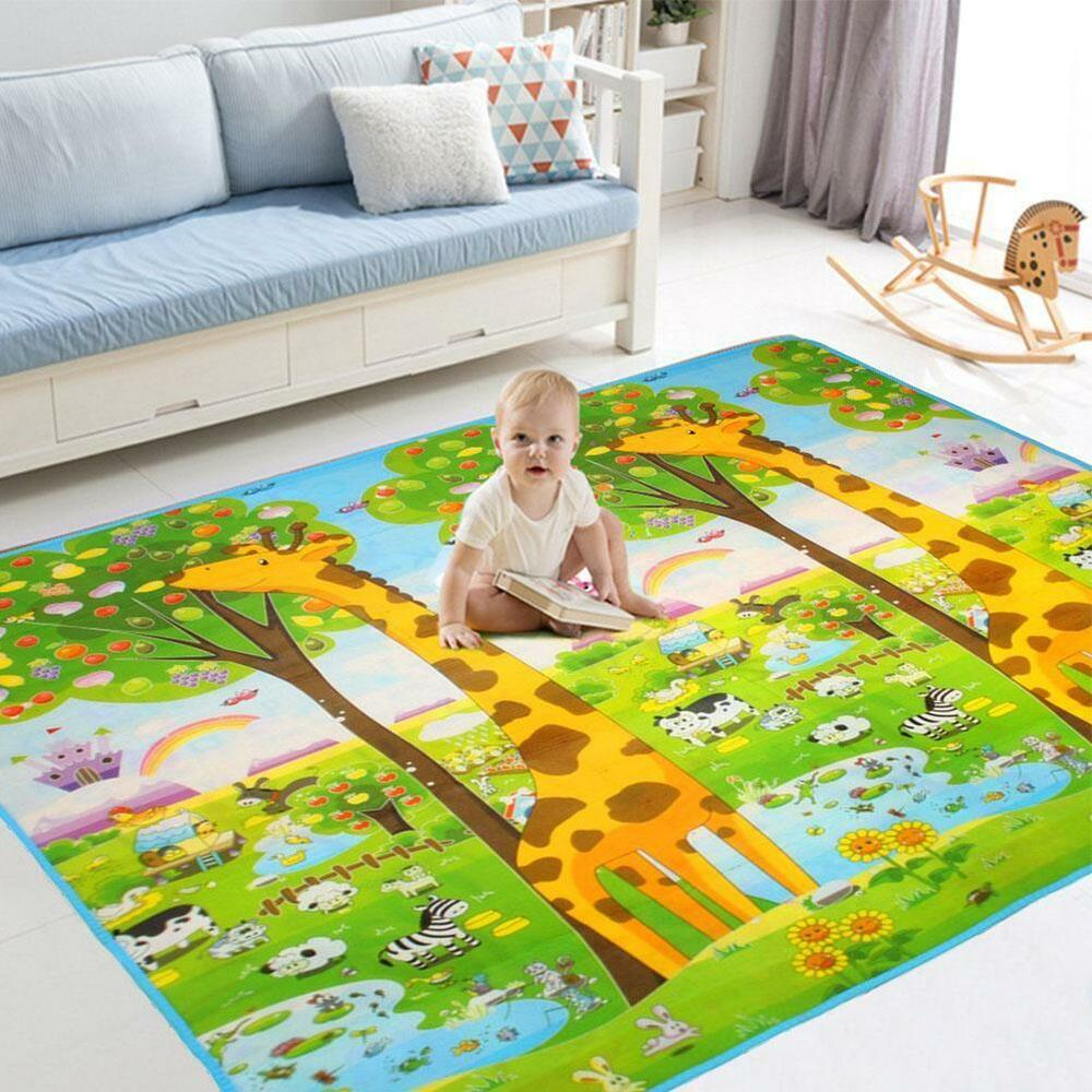 Baby Gym Play Mat Game Activity Toy Waterproof Blanket