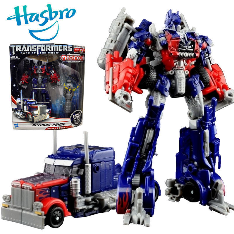Hasbro transformers optimus prime mechtech robot truck car - Optimus prime dessin ...