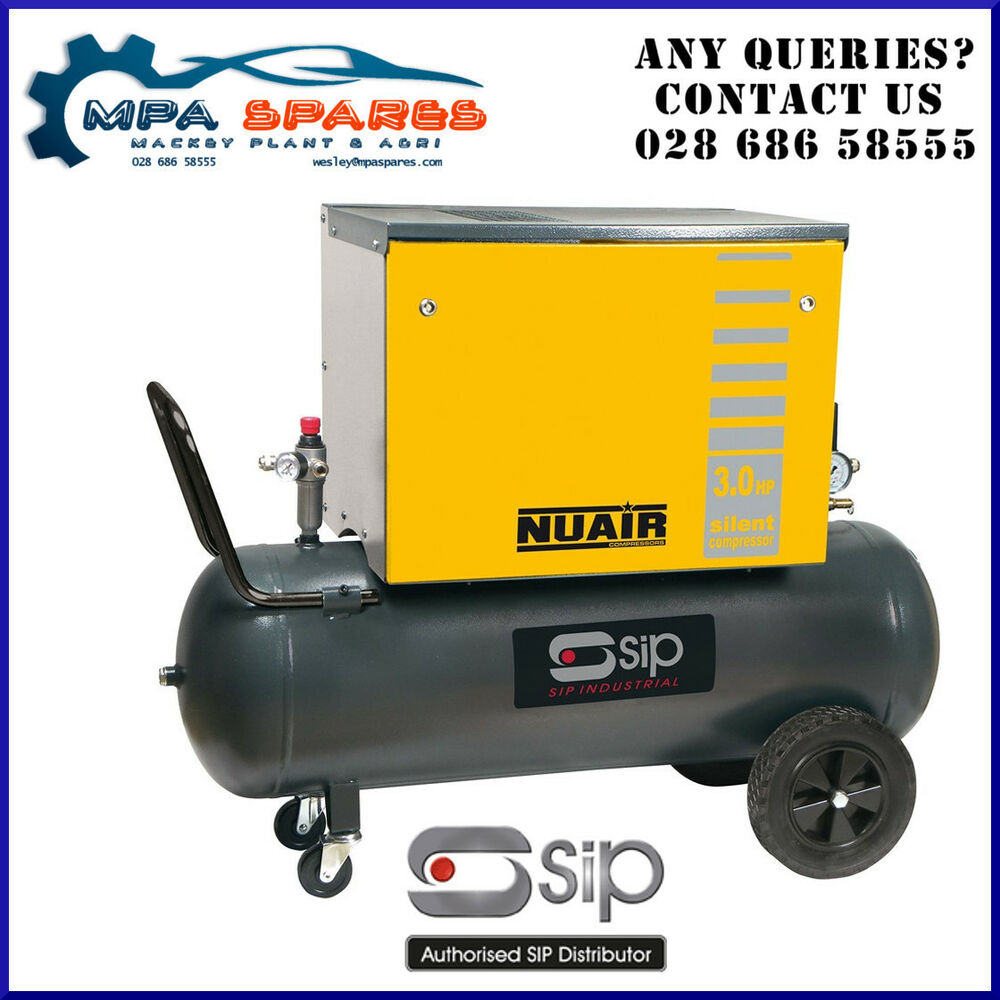 Other Air Compressors Air Compressors Whisper Silent Compressor Pro 80l Oil Free Low Noise 69db Air Compressor Clinic Complete In Specifications